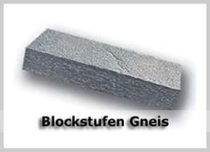 Gneis Blockstufen
