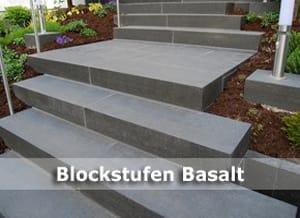 Basalt Blockstufen