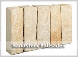 Sandstein Palisaden