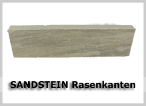 Sandstein Rasenkanten