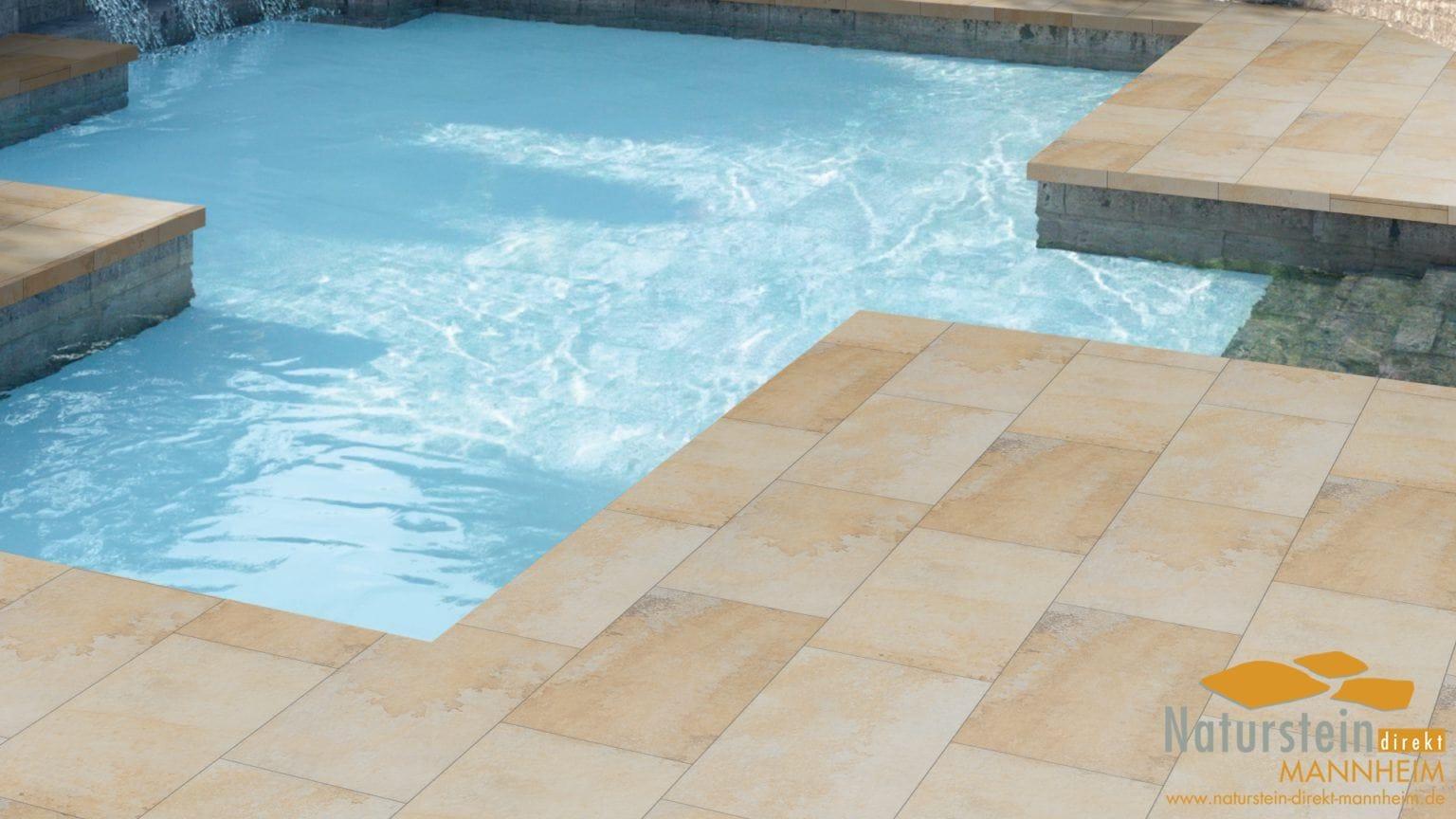 2 selektion terrassenplatten keramik solnhofen 120x60x2cm naturstein direkt mannheim. Black Bedroom Furniture Sets. Home Design Ideas