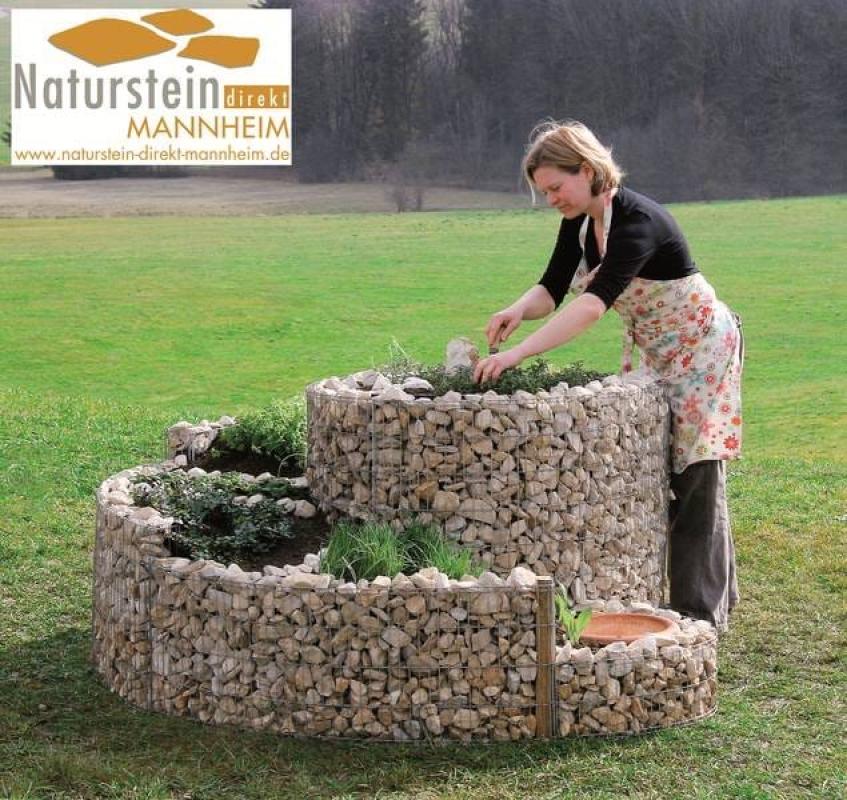 naturstein kr uterschnecke gro 200 x 150 cm naturstein direkt mannheim. Black Bedroom Furniture Sets. Home Design Ideas